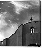 Back Entrance Arch San Xavier Del Bac Mission 1979 Acrylic Print