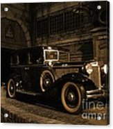 Back In Time Acrylic Print