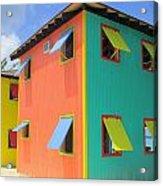 Back Of Cabins 1 Acrylic Print