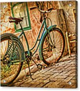 Back Patio Acrylic Print by Nikolyn McDonald