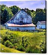 Back Roads Country Barn Acrylic Print