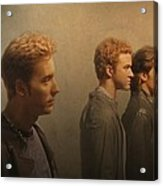 Back Stage With Nsync Acrylic Print