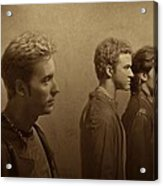 Back Stage With Nsync S Acrylic Print