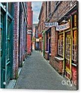 Back Street Love Acrylic Print