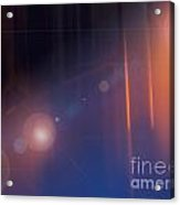 Background Flare Acrylic Print