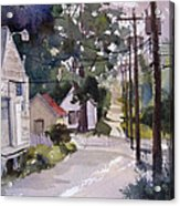 Backstreet Acrylic Print