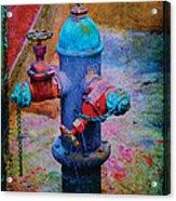 Backstreets Vi Acrylic Print