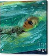 Backstroke Acrylic Print