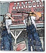 Backwards Bluegrass Acrylic Print
