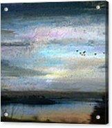 Backwater Overflight Acrylic Print