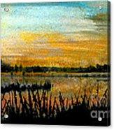 Backwaters Acrylic Print