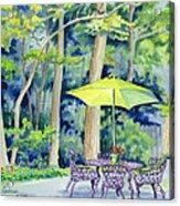 Backyard Retreat Acrylic Print
