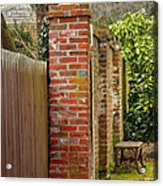 Backyard Solitude Acrylic Print
