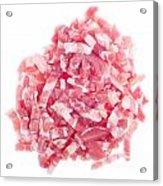 Bacon Pieces Acrylic Print
