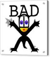 Bad Babe Acrylic Print