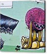 Bad Thoughts Acrylic Print