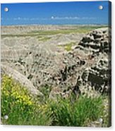 Badlands National Park  1 Acrylic Print