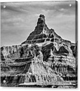 Badlands Peak Acrylic Print