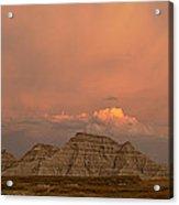 Badlands Softlight South Dakota Acrylic Print