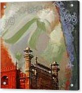 Badshahi Mosque 2 Acrylic Print by Catf