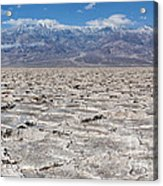 Badwater Basin - Death Valley Acrylic Print
