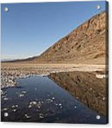Badwater Basin In Death Valley National Park In Inyo County Acrylic Print