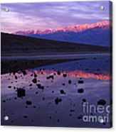 Badwater Death Valley Acrylic Print