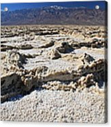 Badwater Telescope Peak Extremes   Acrylic Print