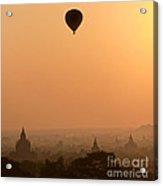Bagan Sunset - Myanmar Acrylic Print