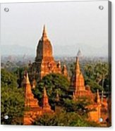 Bagan Temples Acrylic Print