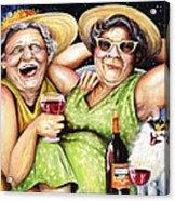 Bahama Mamas Acrylic Print