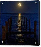 Bahamas Nocturne Acrylic Print