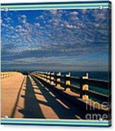 Bahia Honda Bridge In The Florida Keys Acrylic Print