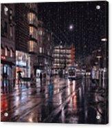 Bahnhofstrasse Acrylic Print