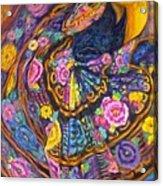 Baile En Las Flores  Acrylic Print