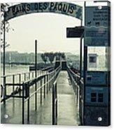 Bains Des Paquis Acrylic Print