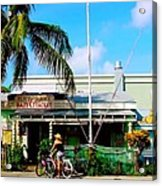 Bait And Tackle Key West Acrylic Print