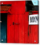 Bait Shop 20130309-2 Acrylic Print by Wingsdomain Art and Photography
