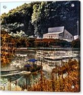 Bait Shop And Restaurant 02 Merged Image Acrylic Print