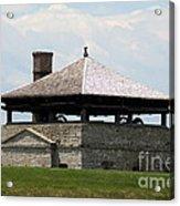Bake House At Old Fort Niagara Acrylic Print