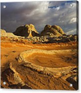 Baked Earth Acrylic Print