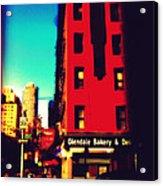 The Bakery - New York City Street Scene Acrylic Print