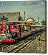 Bala Lake Railway Acrylic Print