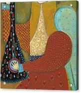 Balalaika Angel Acrylic Print