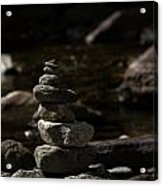 Balance In Nature Acrylic Print