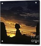 Balance Rock Arches National Park Acrylic Print
