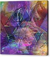 Balanced Dynamic - Square Version Acrylic Print
