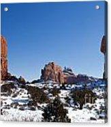 Balanced Rock Arches National Park Utah Acrylic Print