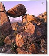 Balanced Rock In The Grapevine Acrylic Print