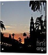 Balboa At Sunset  Acrylic Print